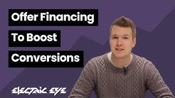 Offer Financing to Boost Conversions