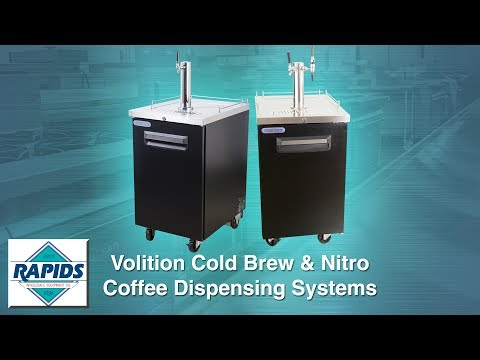Commercial Cold Brew Coffee Tap Systems & Nitro Coffee Dispensers