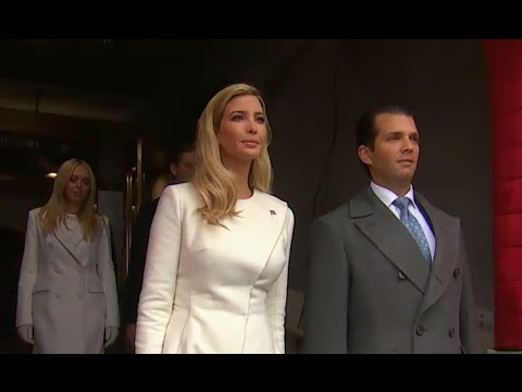 Trump Children Arrive at Their Father's Inauguration