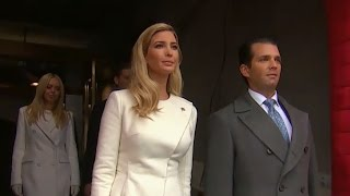 Trump Children Arrive at Their Father