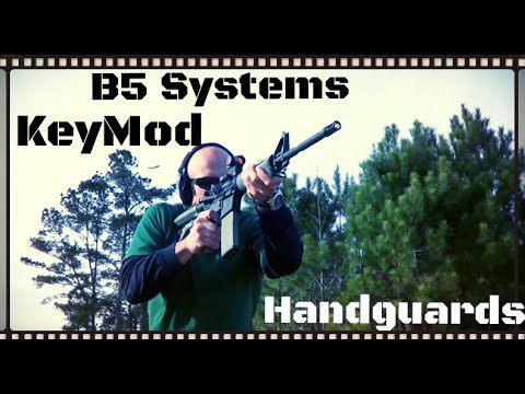 B5 Systems KeyMod Handguard Review (HD)