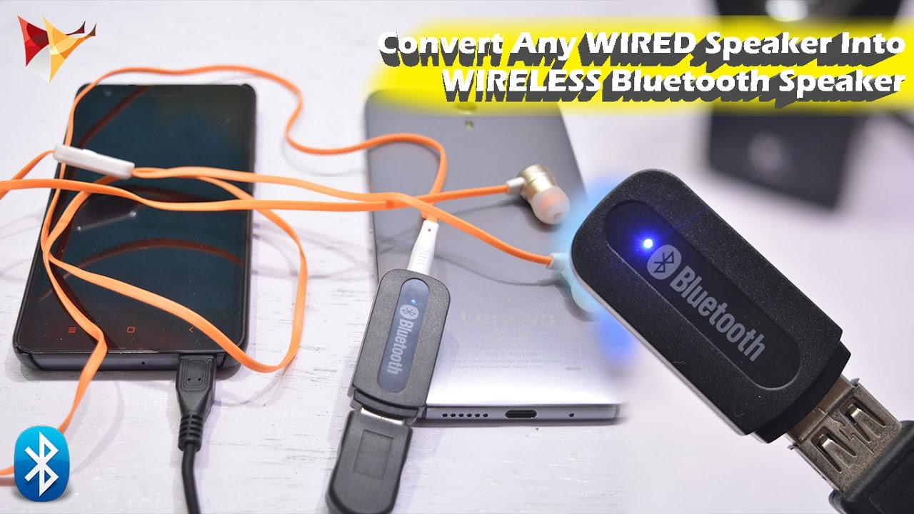 Convert Wired Speakers To Wireless | Convert Any Wired Speaker Into Bluetoorh Bluetooth Speaker Data