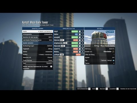 Let's Play GTA Online #0004 [Patty][LP1080p] - Maze Bank Heliaction