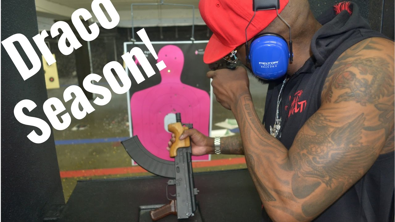 Micro DRACO Ak47 Pistol Dont Be Scared Of A Big Black Guy With A Big Gun!!