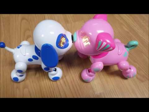 Zoomer Zuppies Toy Review Youtube