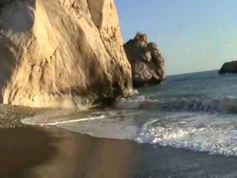 Goddess Aphrodite Birthplace Trip.Paphos, Cyprus