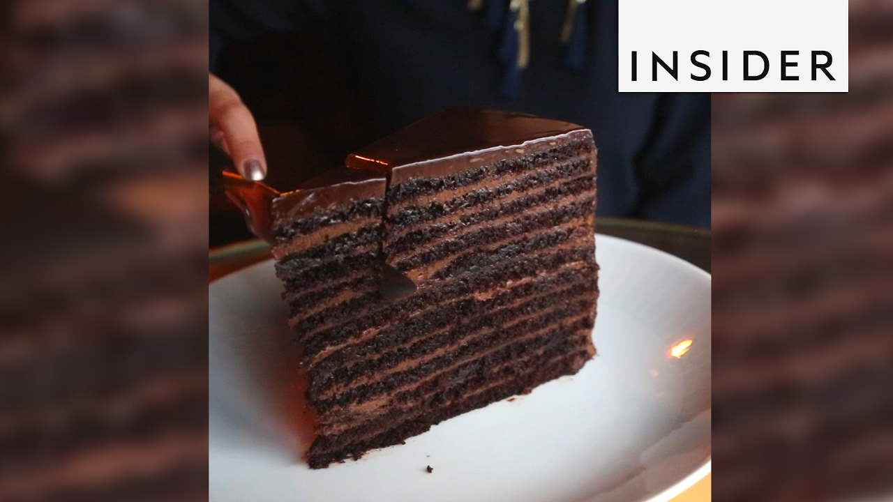 Strip House Chocolate Cake