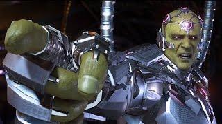 Injustice 2 - Superman vs Brainiac (Story Battle 63) [HD]