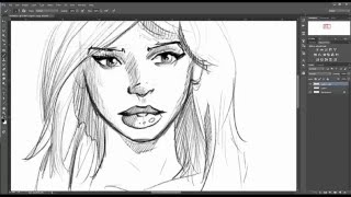 How I draw sexy comic lips