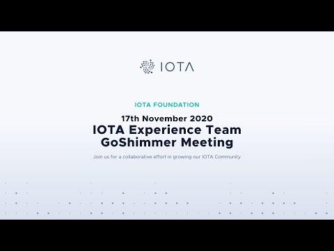 2020-11-17 IOTA Experience