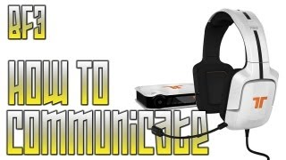 Effective Radio Communication | BF3 Tactical Game Play + Commentary