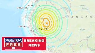8.0 Earthquake Hits Peru - LIVE BREAKING NEWS COVERAGE