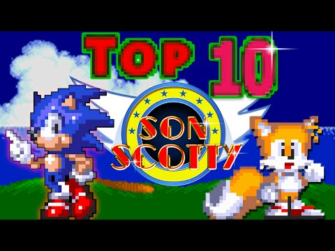 Top 10 Classic Sonic Trilogy Music  - SonScotty