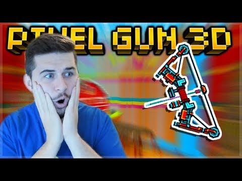 THIS IS THE MOST INSANE SNIPER EVER ADDED PROFESSIONAL BOW! | Pixel Gun 3D