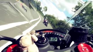 BMW S1000RR streetracing & Unfall bei 140km/h  (5:05)