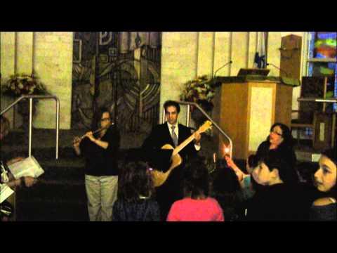 Hanukkah Candle Lighting With South Huntington Jewish Center Religious School