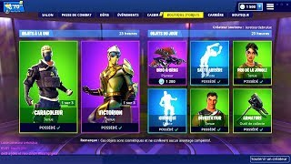 BOUTIQUE FORTNITE du 27 Fevrier 2019 ! ITEM SHOP February 27 2019