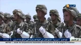الفريق احمد قايد صالح من الجبهة الجنوبية الشرقية ...انها الحرب!!