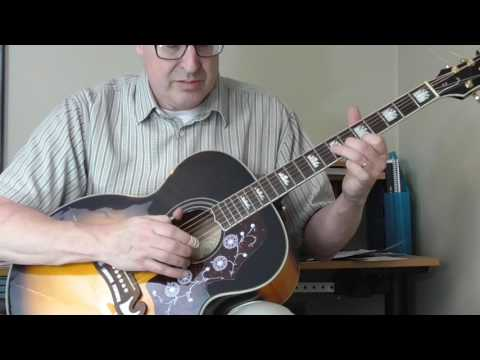 William Moore Guitar Lesson - Old Country Rock Part 1