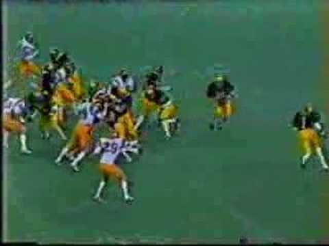 Anthony Carter Bluebonnet Bowl 1981