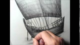 3D Drawing KYRENIA SHIP Cyprus