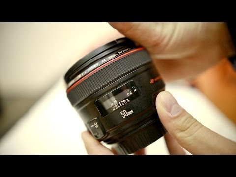 Canon 50mm f/1.2 USM 'L' lens review with samples (APS-C and full frame)