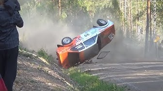 Jari-Pekka Ralli Heinola 2014, F-Cup (crash & action)