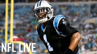 Panthers noticing a difference in rested cam newton | nfl live | espn