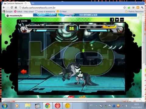 Gameplay Duelo Ben 10