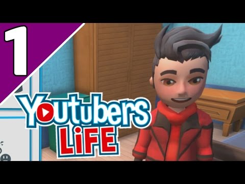 Let's Play YouTubers Life Ep 1 | A GOOD START?!  (YouTubers Life Game Gameplay)