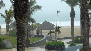 Sheltered Downpour - Hurricane Jimena, Cabo Azul Resort