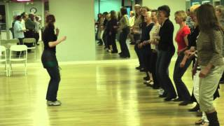CFCZ Zydeco Dance Lesson held on April 6, 2013