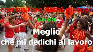 """Giorgio Villani - La camicia bianca (parodia di """"Camisa negra"""") - KARAOKE"""
