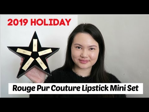 yves-saint-laurent-rouge-pur-couture-lipstick-mini-set-review-+-swatches-+-try-on-|-tracey-studio