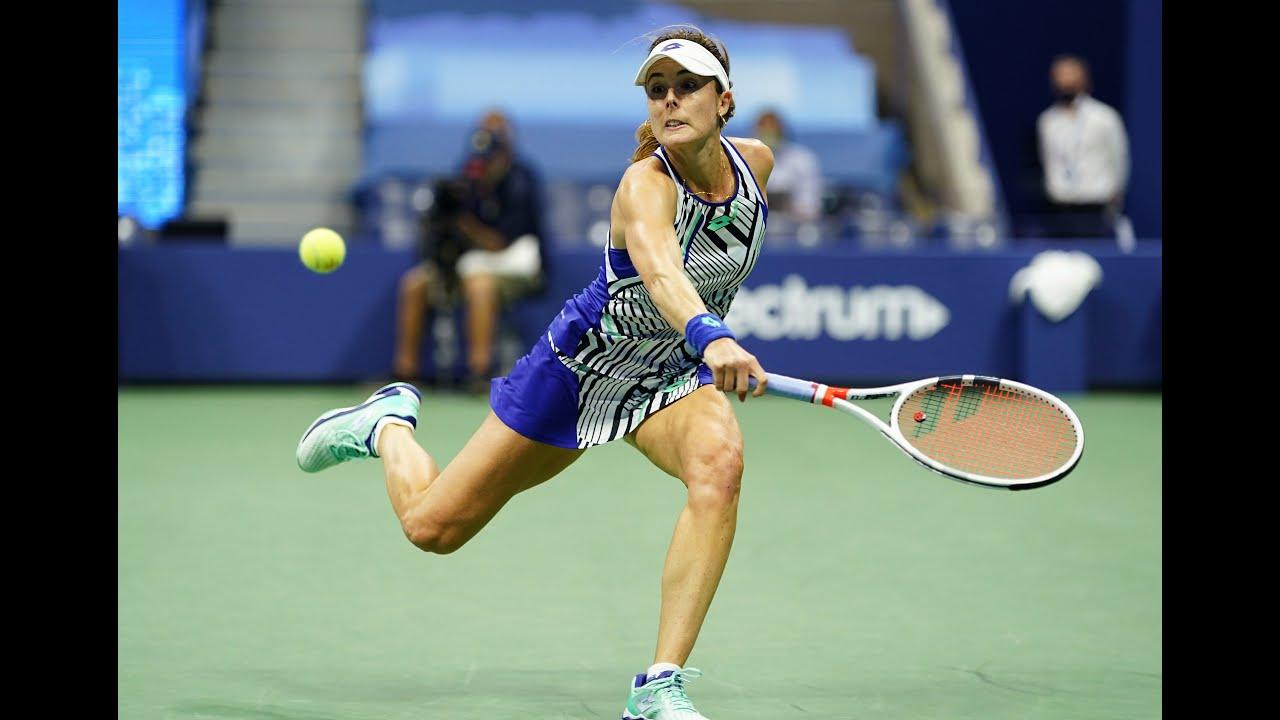 Madison Keys vs Alize Cornet | US Open 2020 Round 3