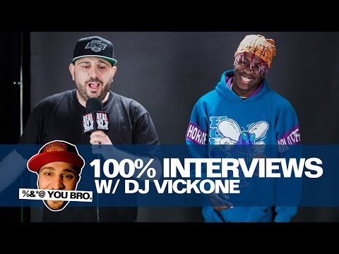 100% INTERVIEWS W/ DJ VICK ONE AND LIL YACHTY!!!!