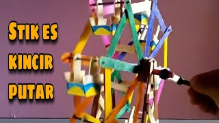 Keren Cara Membuat Kincir Berputar Dari Stik | DIY Stick Terkeren 2017
