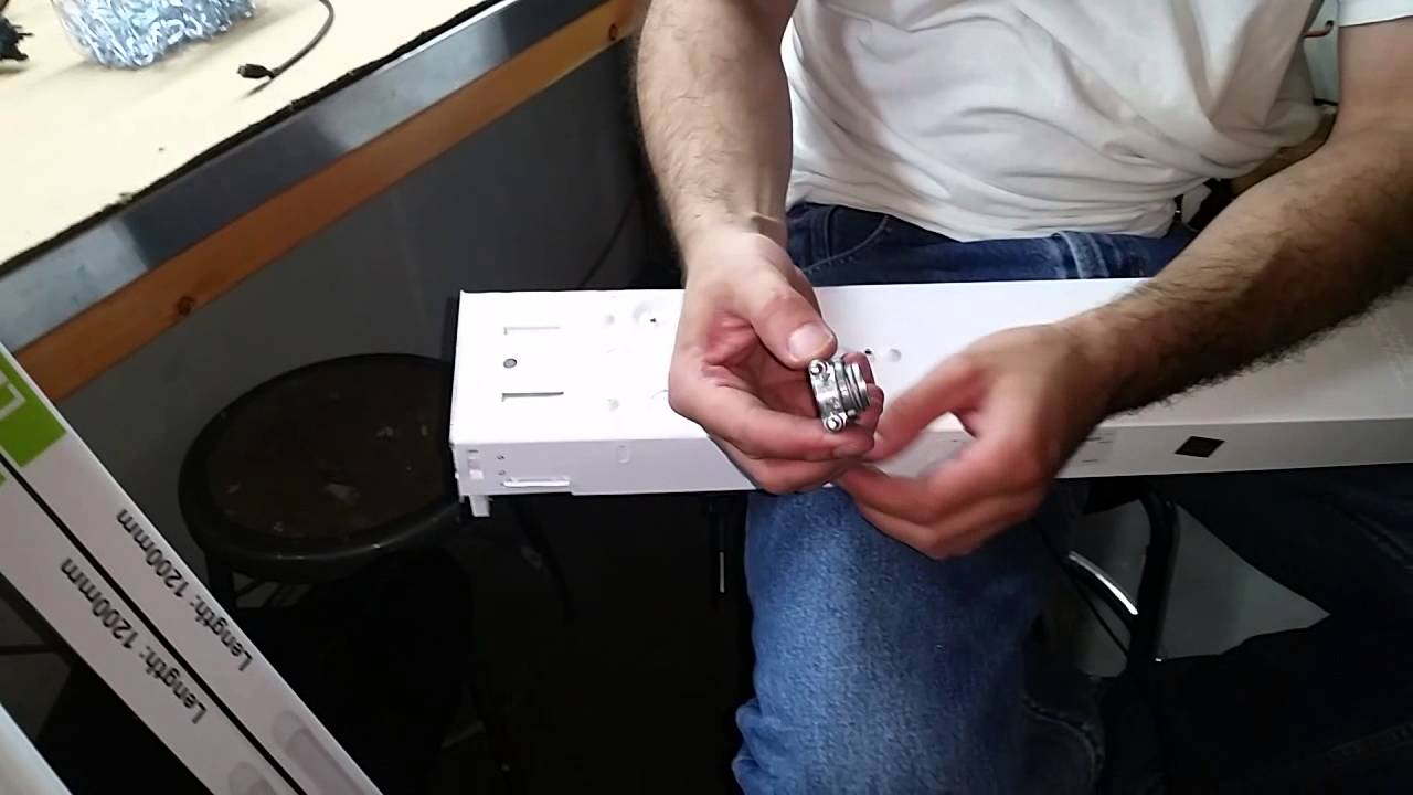 How to hardwire an led fixture youtube how to hardwire an led fixture arubaitofo Gallery