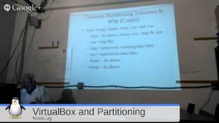 NovaLUG: VirtualBox and Partitioning