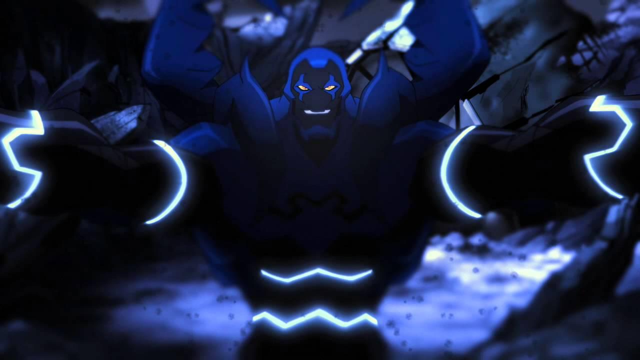 Young Justice Blue Beetle Scarab Blue Beetle Vs Black Beetle