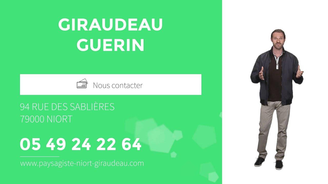 paysagiste entretien de jardin service la personne niort 79 giraudeau guerin youtube. Black Bedroom Furniture Sets. Home Design Ideas