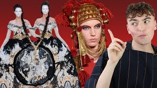 couture would be NOTHING without Valentino (Valentino, Margiela, Guo Pei Haute Couture Review)