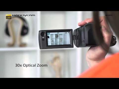 Sony CX405 Handycam® with Exmor R™ CMOS sensor