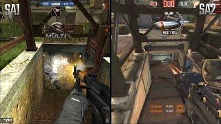 Sudden Attack 2 vs Sudden Attack 1 Graphics Comparison Video