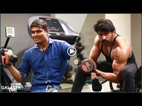 Vishal ku Villain intha Vijay Veriyan - Sandakozhi2 Arjai Workout special for Galatta