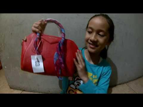 Review Tas Branded Givenchy Merah Cabai Asli Batam  NO Murahan