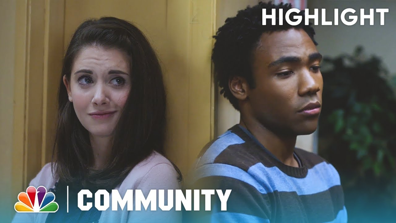 Annie And Troy's Conversation - Community (Episode Highlight)
