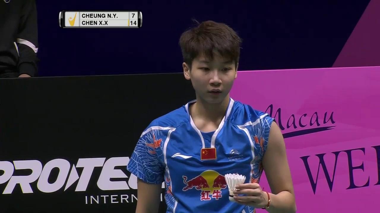 Macau Open 2016 Badminton SF M2 WS