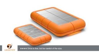 LaCie Rugged XL 1 TB USB 2.0 Desktop External Hard Drive 301848U | Review/Test