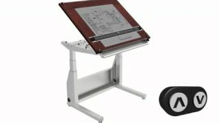Ele  Dt Demo 12 Load Drafting Table By Www.versatables.com
